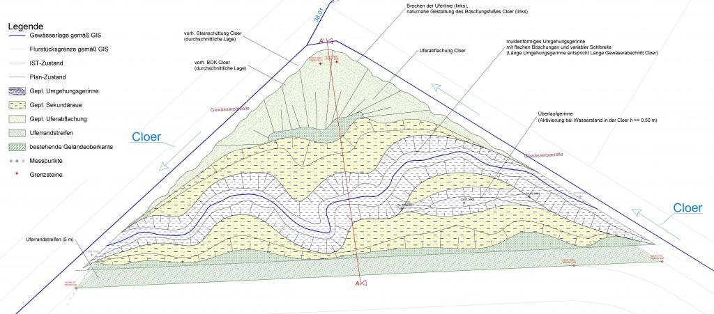 Bauausführungsplan Abschnitt III