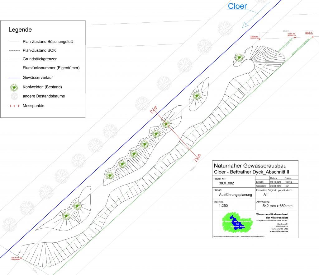 Ausführungsplanung Abschnitt II