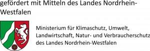 Gefördert mit Mitteln des Landes Nordrhein-Westfalen: Ministerium für Klimaschutz, Umwelt, Landwirtschaft, Natur- und Verbraucherschutz des Landes Nordrhein-Westfalen