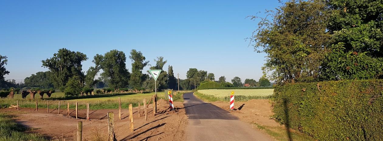 15.06.2017: Durchfahrt Clörath/Clörather Mühle wieder frei!