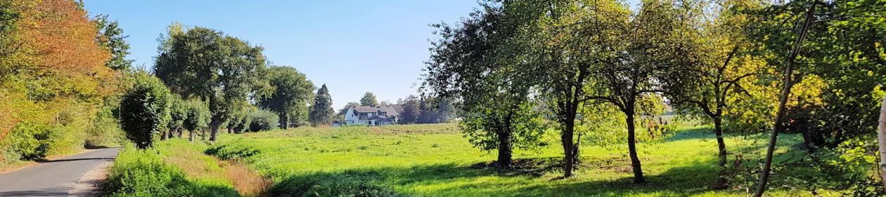 30.09.2018: Baumaßnahme zum Ausgleich der Wasserführung am Münchheider Graben vorgestellt
